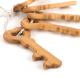 Ensemble de clés en bois épaisses pour bébés