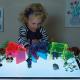 Arbres en acrylique pour boîte lumineuse