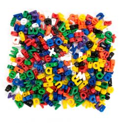 Lettres minuscules à lacets