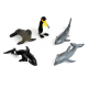Lot d'animaux marins