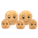 Famille des galets en bois
