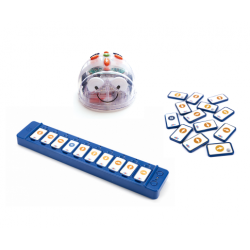 Bundle robot Blue-bot et sa  barre de programmation