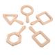 Cadres de visualisation en bois et à formes