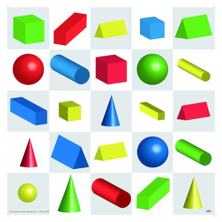 BeeBot Tapis Formes 3D