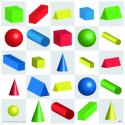 Beebot / Bluebot Tapis Formes 3D