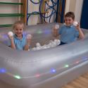 Bassin sensoriel gonflable à LED