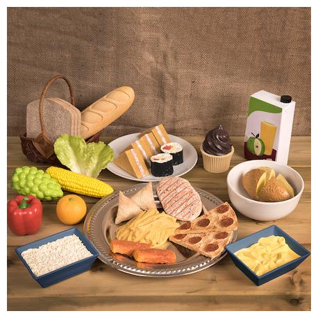 Set Aliments déjeuner