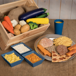 Set Aliments pour dîner