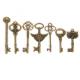 Collection Conversation de clefs curieuses