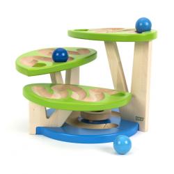 Parcours modulaire pour boule en bois