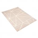 Tapis à motifs géométriques