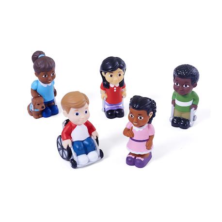 Enfants avec divers handicaps