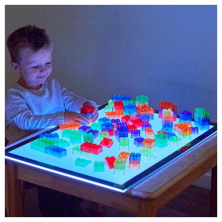 Blocs de modules translucides