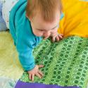 Tapis texturé pour bébés