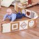 Frise texturée aux couleurs naturelles pour bébés