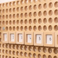 Cartes numérotées de 1à100 Muro de TTS à insérer