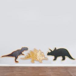 Dinosaures géants de marquage à sequins