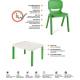 Pack mobilier enfants Ergos 1 table 2 chaises