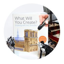 "Livre de projets ""What Will You Create?"" 3D DOODLER"