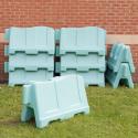 Barrières de jeu pour l'école (lot de 15)