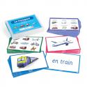 Carte pour apprendre le vocabulaire - transport