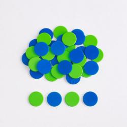 Paquet de 200 compteurs à deux couleurs