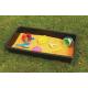 Bac pour jeux de sable et d'eau pour l'extérieur lot de 3 unités