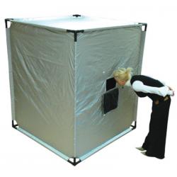 Cabane espace noir géante avec kit 1 et 2 d'accessoires