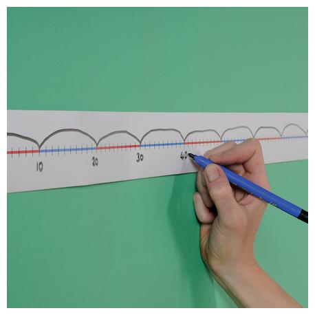 Nombre de lignes de dessus de table 0-100 5pc