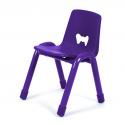 Chaise Valencia violette 310 mm