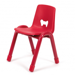 Chaise Valencia Rouge 310 mm