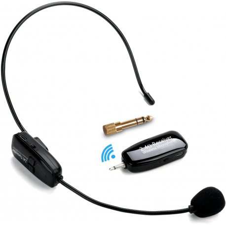 Microphone Sans Fil Haut-Parleur 2-en-1 2.4G