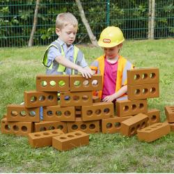 Briques pour « faire semblant » 75 pièces