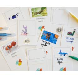 Pack de cartes personnalisables Lilémø - (lilylearn)
