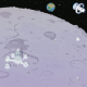 Tapis Paysage lunaire pour robot Rugged Robot