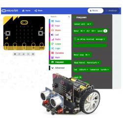 Ressource Robot de sol Microbit