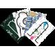 SLIDBOT Kit de compétition 4 Tapis