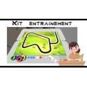SLIDBOT Kit d'entraînement 1 Tapis