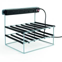chargeur USB 6 tablettes en métal