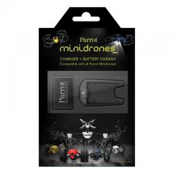 pack 3 batteries et chargeur mini drones