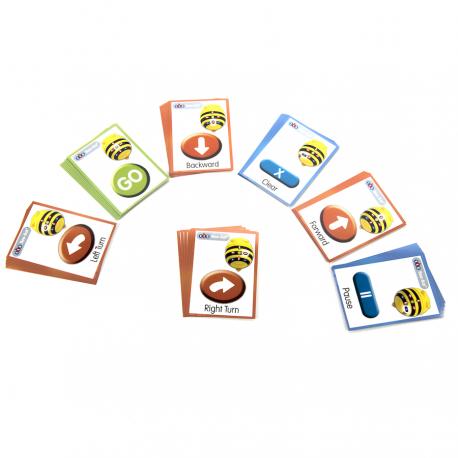 Petites Cartes séquentielles pour robot BeeBot / Bluebot