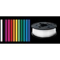 Bobine de filament PLA 600 G pour imprimante mini. Blanc perle