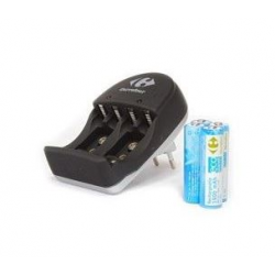 Chargeur 4 piles AA, incluant 4 piles AA 1900 mah