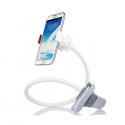 Bras fléxible blanc pour votre téléphone (BYOD)