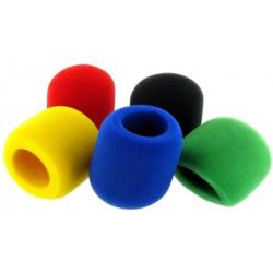 Pack de 5 bonnettes colorées
