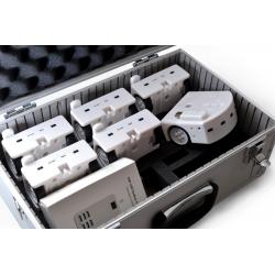 Mallette de transport  pour 5 ou  6 robots  Thymio (Valise)