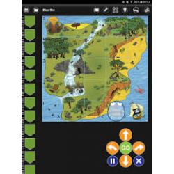 Ressources logiciel TTS Bluebot pour tablettes Windows, IOS et Android  associées à un robot bluebot