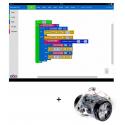 Ressources logiciel INOBOT pour tablettes Windows, IOS et Android associées au Robot Scratch InO-Bot