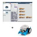 Ressources logiciel  MBOT pour tablettes Windows, IOS et Android associées au Robot MBOT