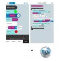 Ressources logiciel Sphero pour tablettes  ANDROID et IOS associées au robot Sphero SPRK+